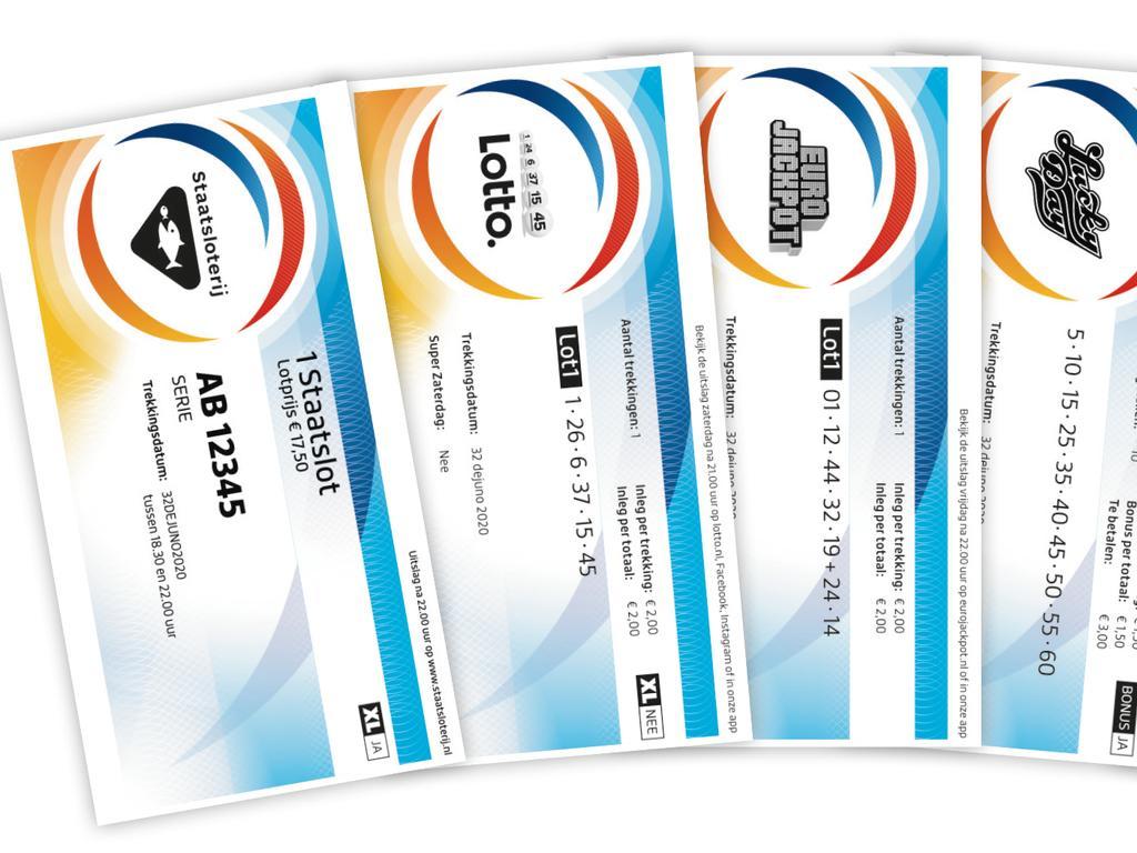 Staatslot ziet er straks hetzelfde uit als Lotto | NU - Het laatste nieuws  het eerst op NU.nl