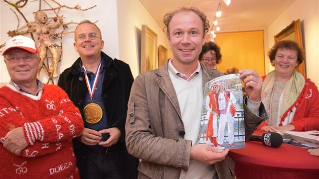 Winnaars roodwit-wedstrijd 3 October Vereeniging