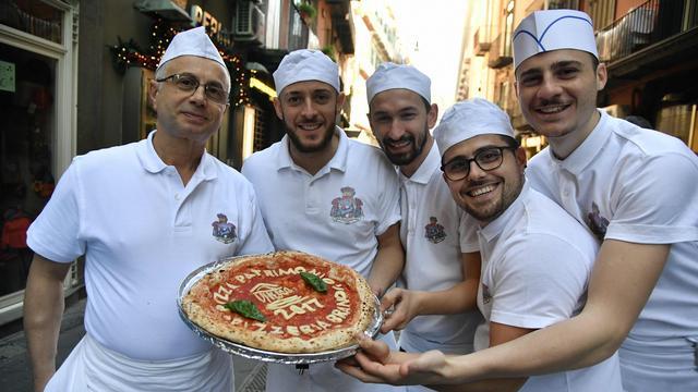 Italiaanse pizza op lijst van immaterieel erfgoed
