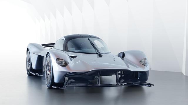 Aston Martin geeft nieuwe beelden vrij van 'hypercar' Valkyrie