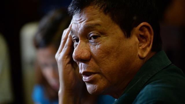 Omstreden president Filipijnen geïnstalleerd
