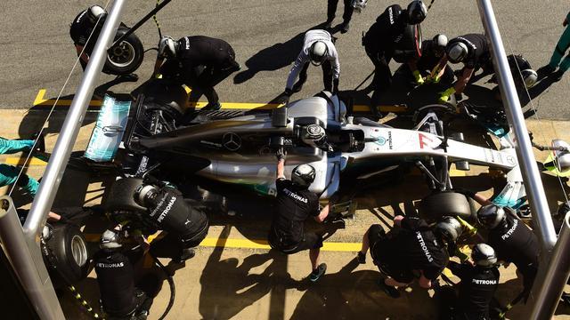 'Mercedes voert grote update door aan wagen voor tweede testweek'