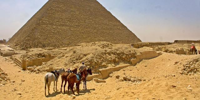 Verborgen ruimte in piramide van Gizeh ontdekt
