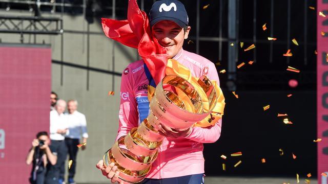 Movistar met Giro-winnaar Carapaz, Quintana en Valverde naar Vuelta