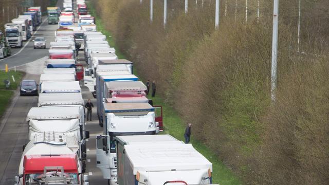 Belgische wegen niet langer versperd