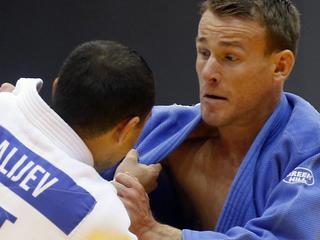 Kazach Roestam Ibrajev te sterk voor Nederlander
