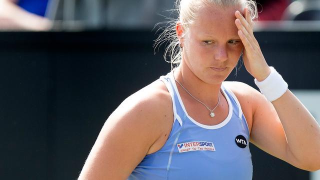 Bertens uitgeschakeld in eerste ronde WTA-toernooi Bastad