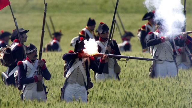 Aan de zijlijn van de Slag bij Waterloo