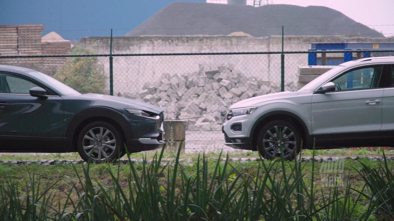 Eerste dubbeltest: Mazda CX-30 tegen de Volkswagen T-Roc
