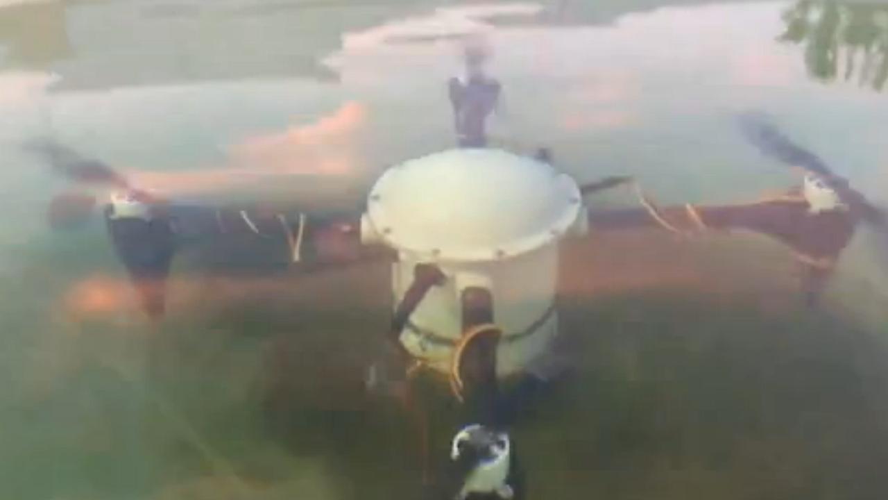 Drone kan zich maanden onder water verstoppen