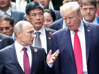 Trump en Poetin ontmoeten elkaar maandag in Helsinki