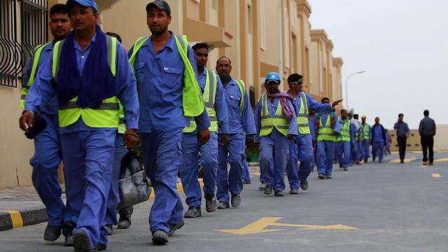 'Omstandigheden gastarbeiders in Qatar in jaar niet veranderd'