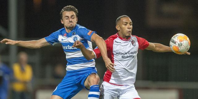 Geen winnaar bij FC Emmen-De Graafschap na hectische slotfase