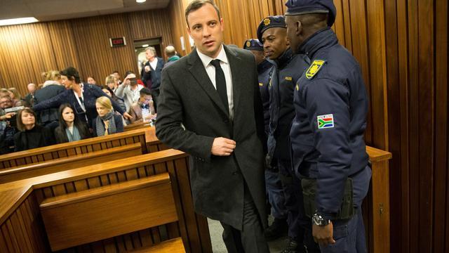 'Oscar Pistorius opgenomen in ziekenhuis'