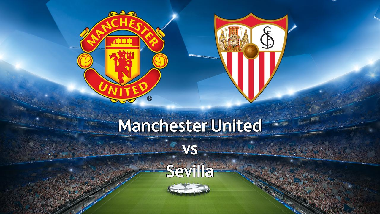 Livestream Champions League: Manchester United-Sevilla