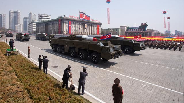 Noord-Korea vuurt drie ballistische raketten af