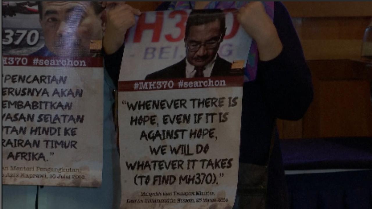 Nabestaanden MH370 vragen om verder onderzoek
