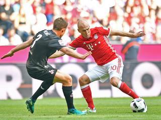 Koploper van Bundesliga komt niet verder dan 1-1 gelijkspel tegen Köln