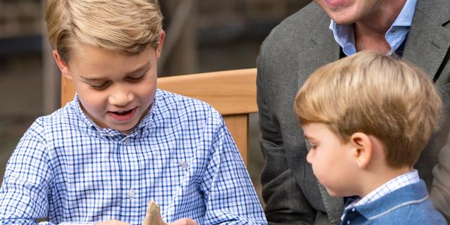 Britse prins George viert achtste verjaardag