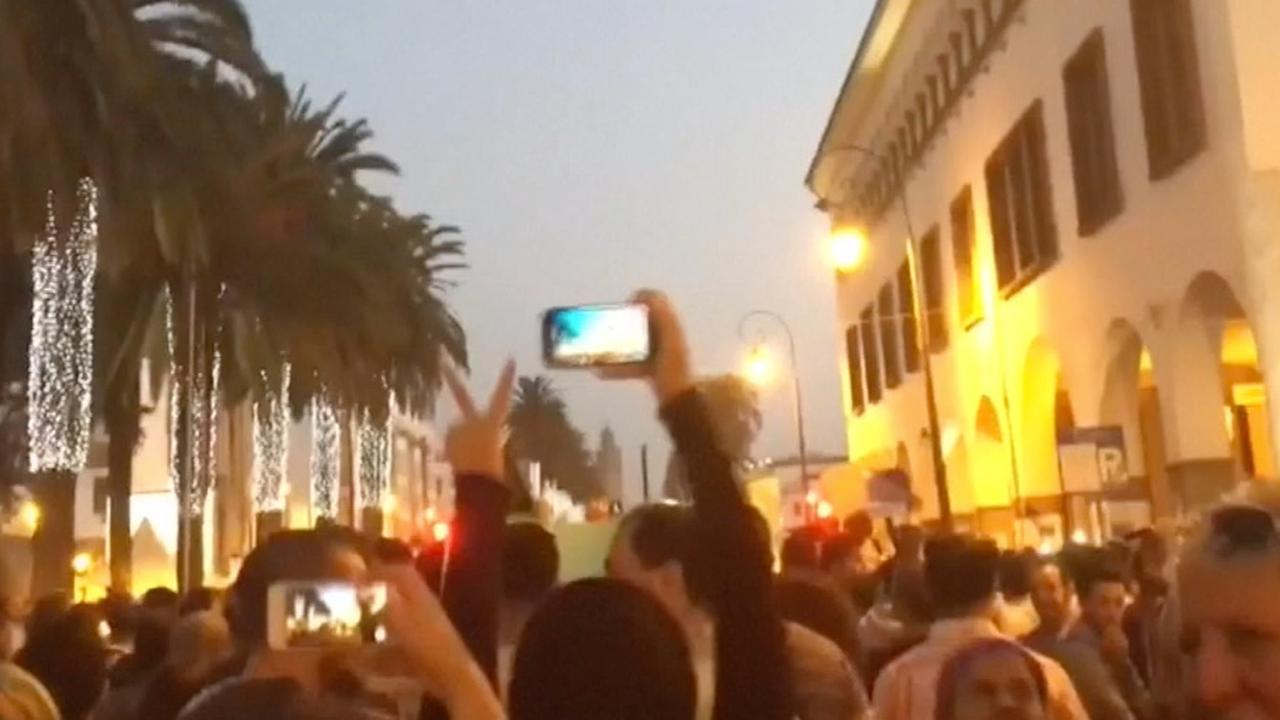 Demonstraties in Marokko na dood visverkoper