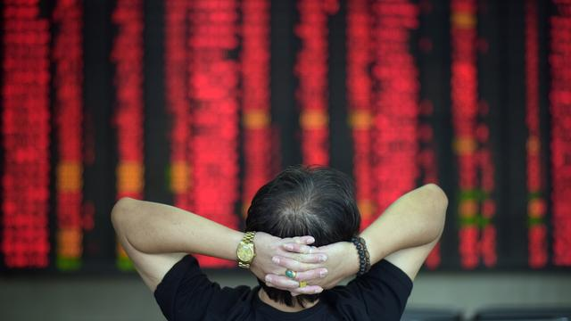 Chinese beurs verder omlaag