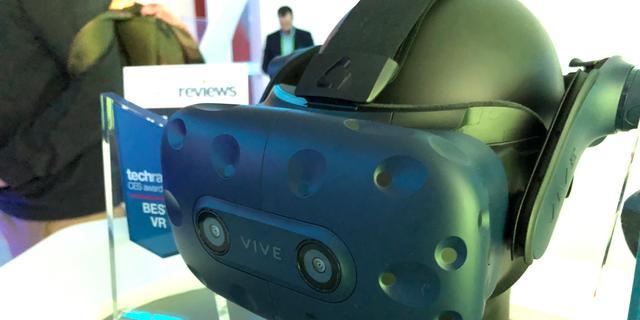 Eerste indruk: Virtualrealitybril Vive Pro heeft haarscherp scherm