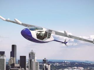 Vliegende taxi Rolls-Royce kan 400 kilometer per uur vliegen