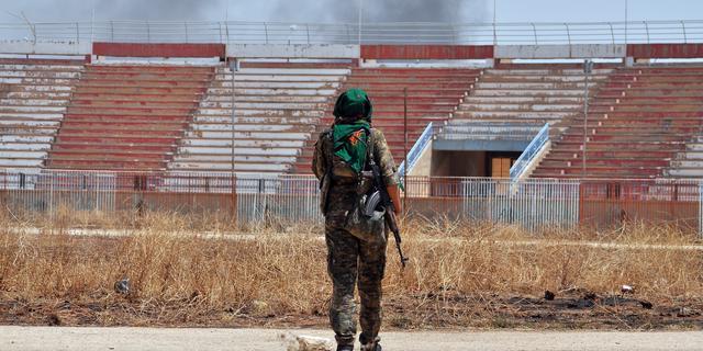 'Turkije beschiet Koerdische strijders in Syrië'
