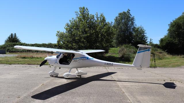 Voor het eerst elektrisch vliegtuig op Airport Eelde