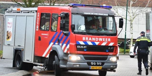 Brand in tuinhuis in Teteringen na explosie, geen gewonden