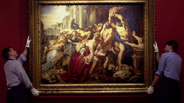 Rubens' Kindermoord na vier eeuwen weer terug in Rubenshuis