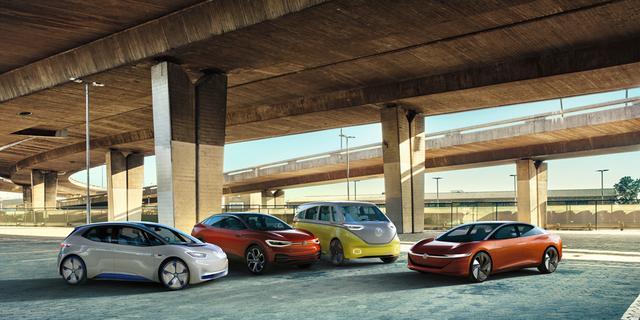 Ontwikkelen merken elektrische auto's voor zichzelf of vanwege regels?