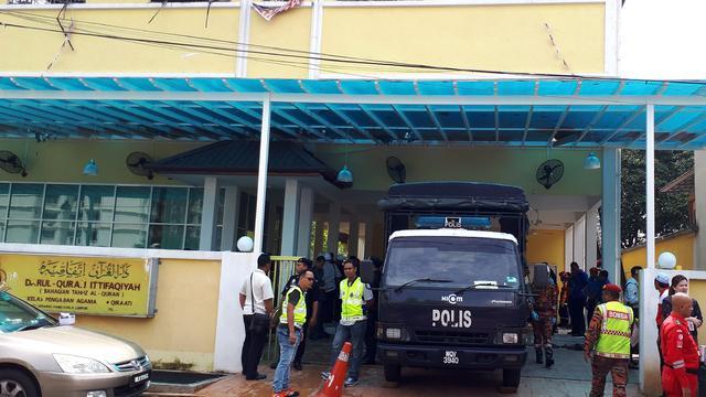 Zeker 24 doden door brand in islamitische school Kuala Lumpur
