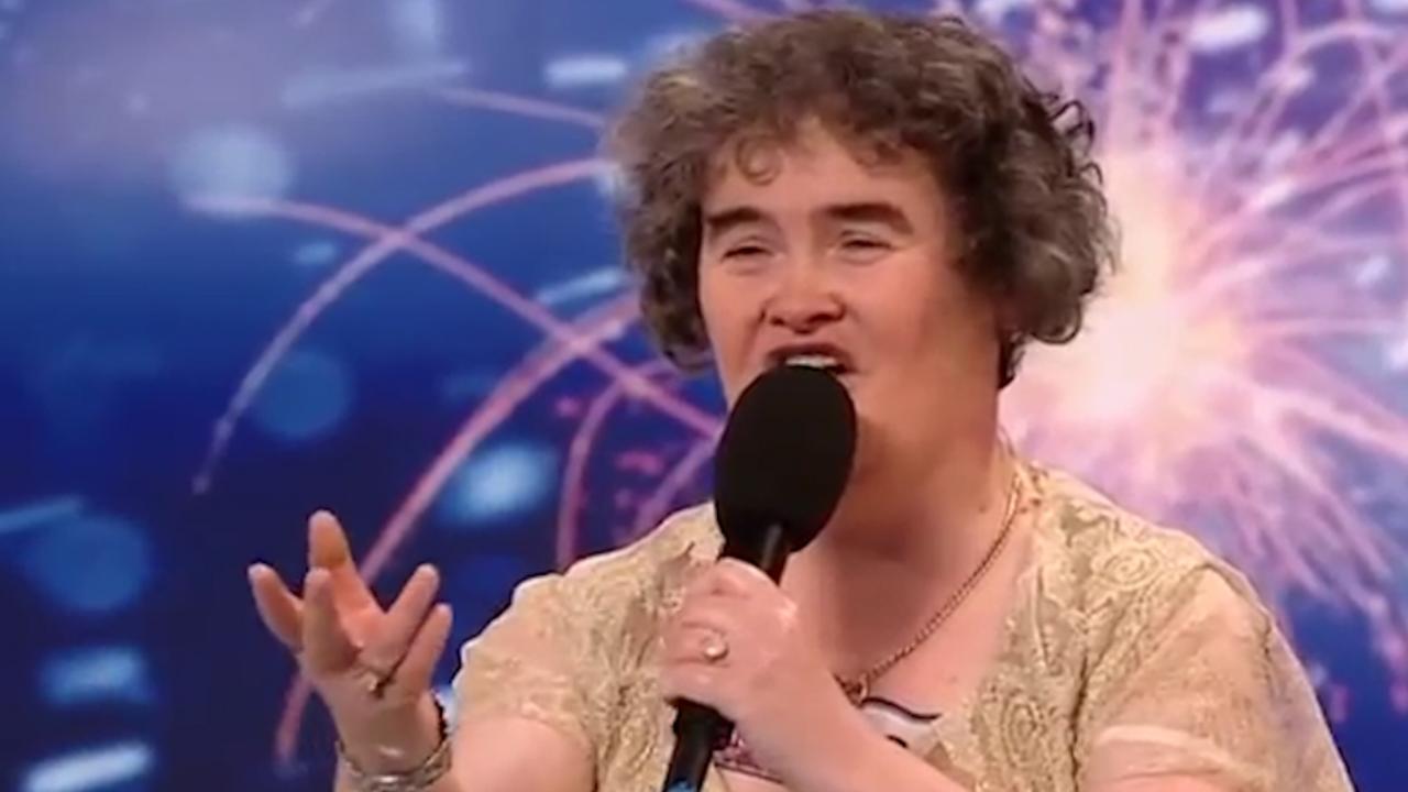 Bekijk hier de eerste auditie van Susan Boyle