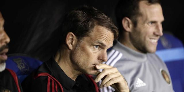 Frank de Boer verliest bij debuut Atlanta United in Noord-Amerikaanse CL