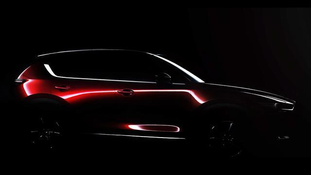 Mazda toont nieuwe CX-5