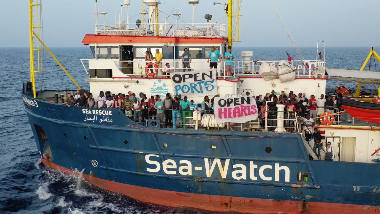 Reddingsdienst of veerdienst? Discussie rond Sea-Watch