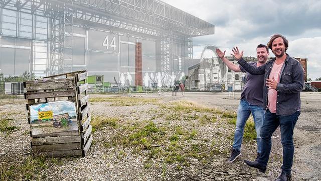 Nieuw Stadslab op Suikerunieterrein biedt ruimte aan bedrijven en feesten