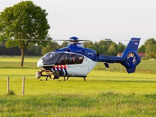 Politie zet helikopter in bij zoektocht naar verdachte in Amersfoort