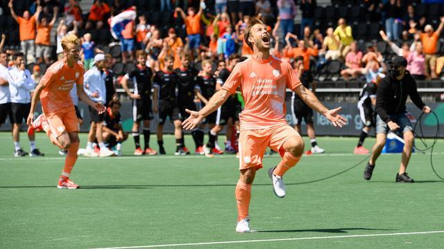 De Nederlandse hockeyers veroverden de zesde Europese titel in de historie.