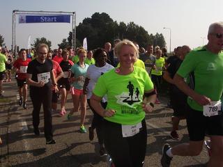 Ruim 1.600 mensen deden mee voor de Stichting Running Blind