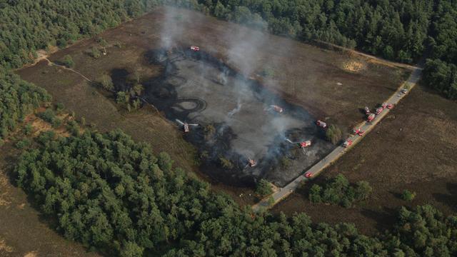 Enorme toename aantal natuurbranden in droge en hete maand juli