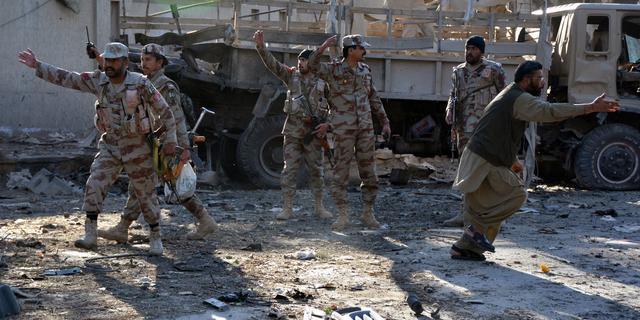 Zeker tien doden na aanslag in zuidwesten Pakistan