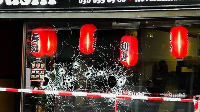 Sushirestaurant Utrecht beschoten met machinegeweer