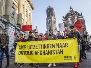 Activisten demonstreerden als onderdeel van Europa-brede protestdag