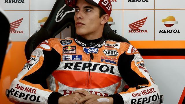 Motorcoureur Marquez bij woning belaagd door Italiaanse journalisten