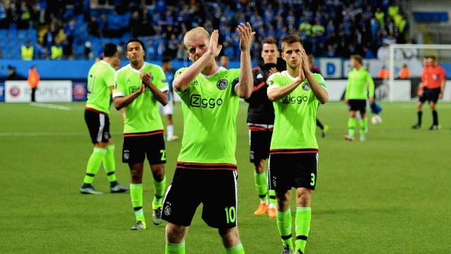 Ajax speelt tegen Molde ook tweede groepsduel gelijk in Europa League