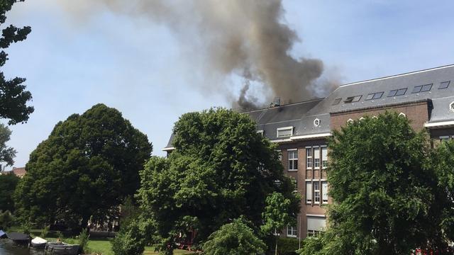 Leerlingen Fons Vitae Lyceum krijgen les op nieuwe locatie na brand