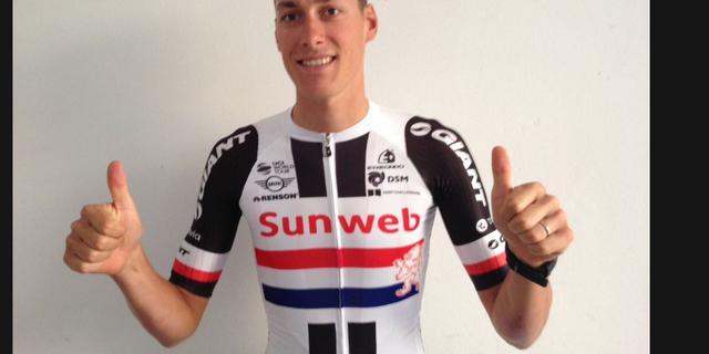 Sinkeldam rijdt niet in Nederlandse kampioenstrui bij Sunweb