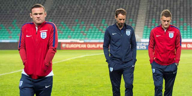 Southgate passeert aanvoerder Rooney tegen Slovenië